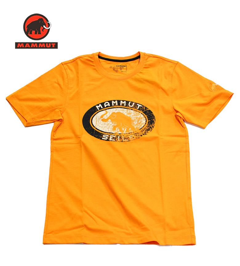 MAMMUT/マムート コットンTシャツ【Seile Tシャツ】セールTシャツ