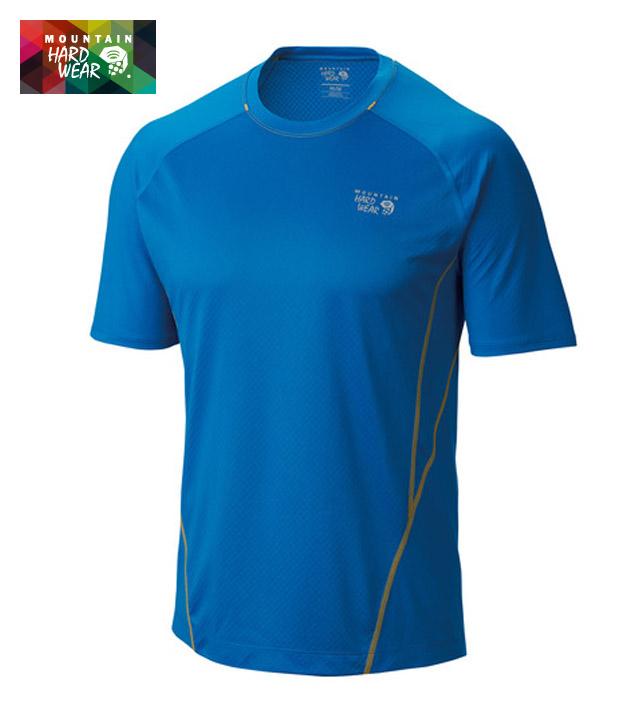マウンテンハードウェア/MOUNTAIN HARDWEAR 冷却効果、吸汗速乾Tシャツ 【ウィックドクールショートスリーブT】OE6529