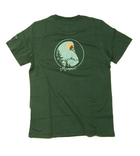 MAMMUT/マムート コットンTシャツ【DIME Tシャツ】