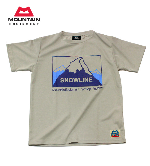 MOUNTAIN EQUIPMENT(マウンテン イクイップメント) #423753 速乾Tシャツ【ダブル・フェイス・ティー・スノーライン】