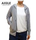 AIGLE(エーグル)/フレンチテリー フルジップパーカー