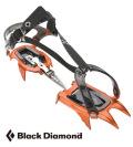 ブラックダイヤモンド/Black Diamond 軽量アイスクランポン【ネーベストラップ】10本爪アイゼン
