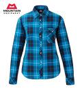 MOUNTAIN EQUIPMENT(マウンテン イクイップメント) #422808長袖 トレッキングシャツ 【W's LS TARTAN SHIRT】ウィメンズ ロングスリーブ タータンシャツ