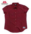 MOUNTAIN EQUIPMENT(マウンテン イクイップメント) #422809 トレッキングシャツ 【W's SS TARTAN SHIRT】ウィメンズ ショートスリーブ タータンシャツ