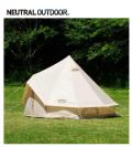 NEUTRAL OUTDOOR/ ニュートラルアウトドア NT-TE02 【GEテント3.0】 23457 ワンポールテント ゲル型テント