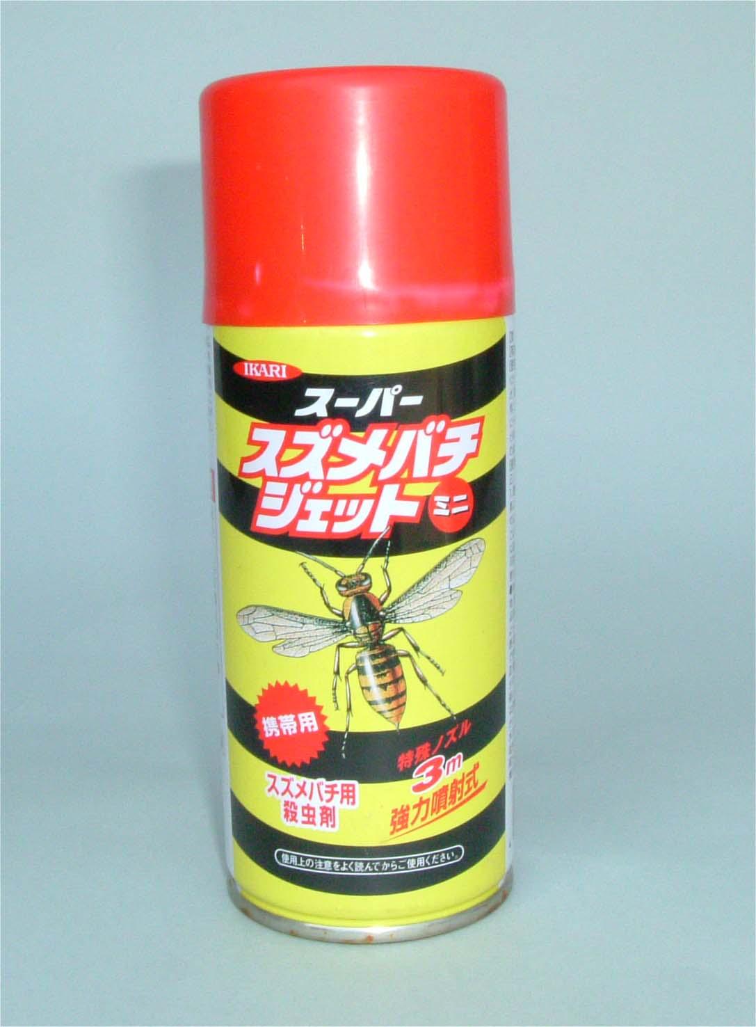 イカリ消毒(株)/スーパースズメバチジェット(スズメバチ殺虫剤)