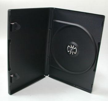 ポップマンボウ DVDトールケース ブラック 1枚収納 1個