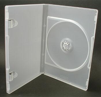 ポップマンボウ DVDトールケース クリア 1枚収納 1個