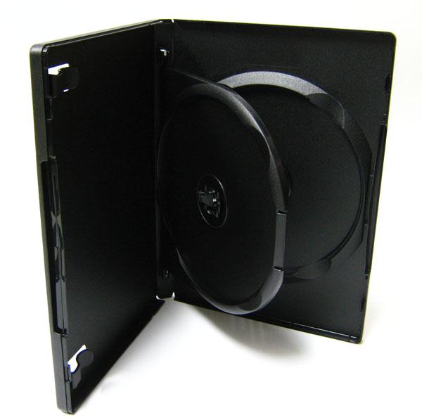 標準サイズ/15mm厚に2枚収納/フリップタイプMロックトールケース ブラック 1個