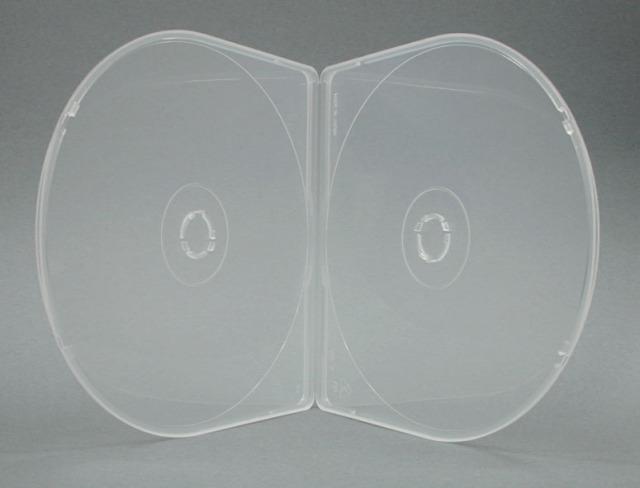 2枚収納 半円形ケース 日本製