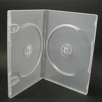 ポップマンボウ DVDトールケース クリア 2枚収納 1個