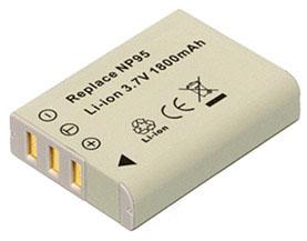 互換バッテリー FujiFilm MBH-NP-95