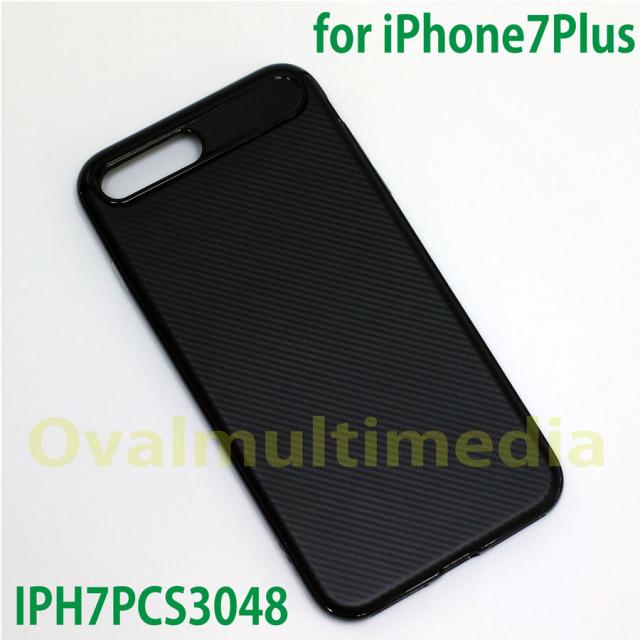 iPhone7Plus用レザー調ケース
