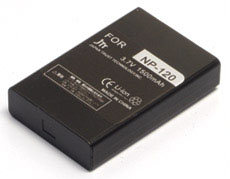 互換バッテリー FujiFilm MBH-NP-120