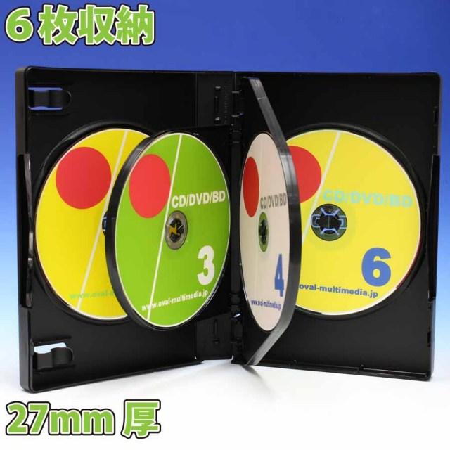 Mロックシリーズ 6枚収納DVDトールケース