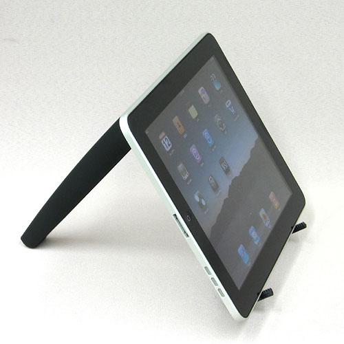 伸縮式で持ち運びも便利 【iPad用スタンド ホワイト IPAD-ST-WH】