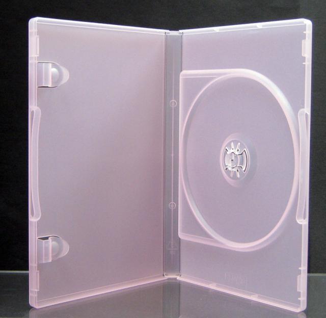 ポップマンボウ DVDトールケース チェリー 1枚収納 100個