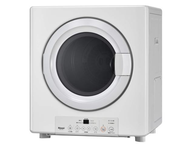 RDT-31S リンナイ ガス衣類乾燥機 乾燥容量3.0kgタイプ 左右可変ドア ガスコード接続タイプ ピュアホワイト