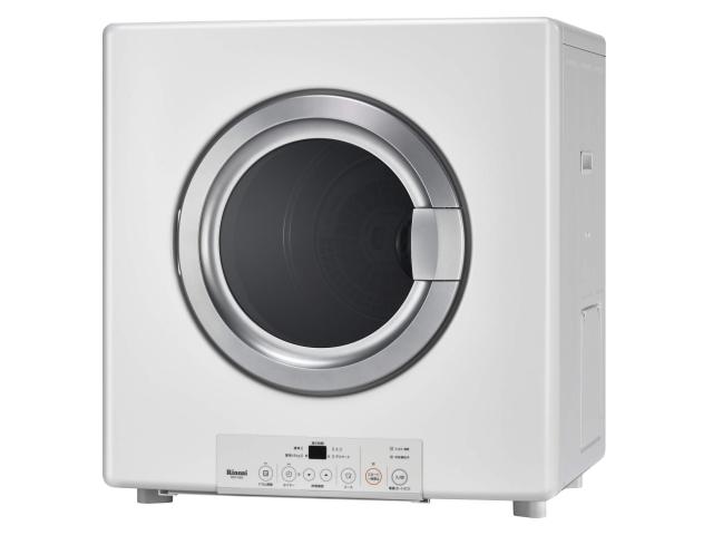 RDT-54S-SV リンナイ ガス衣類乾燥機 乾燥容量5.0kgタイプ 左右可変ドア ガスコード接続タイプ ピュアホワイト