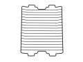 071-067-000 リンナイ フッ素焼き網(Mytone用)