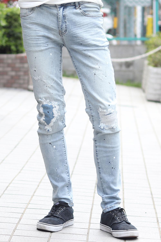 デニム パンツ ストレッチ スキニー(Men's/メンズ)