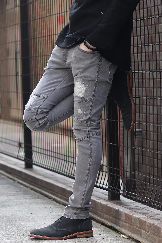COOKJEANS クックジーンズ デニム パンツ ストレッチ スキニー (Men's/メンズ)