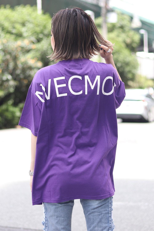 BACKS バックスAVECOMOIプリント半袖Tシャツ(Lady's/レディース)