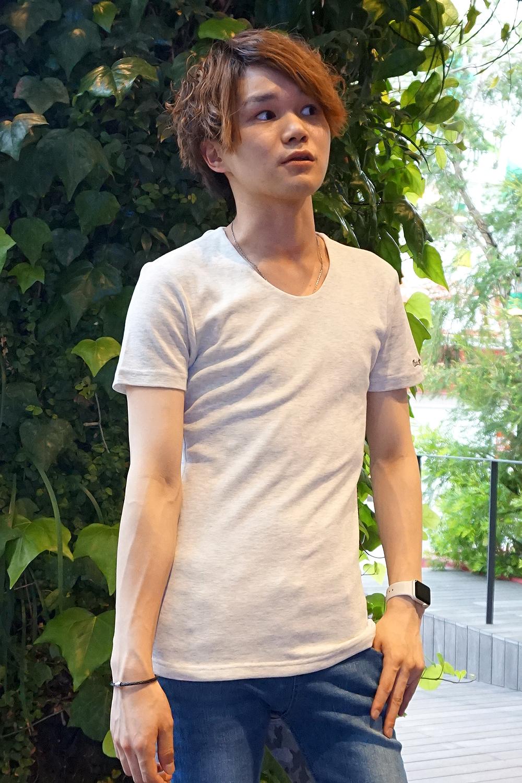 COOKJEANS クックジーンズ フライス 半袖 Tシャツ 防臭 抗菌 カットソー (men's/メンズ)