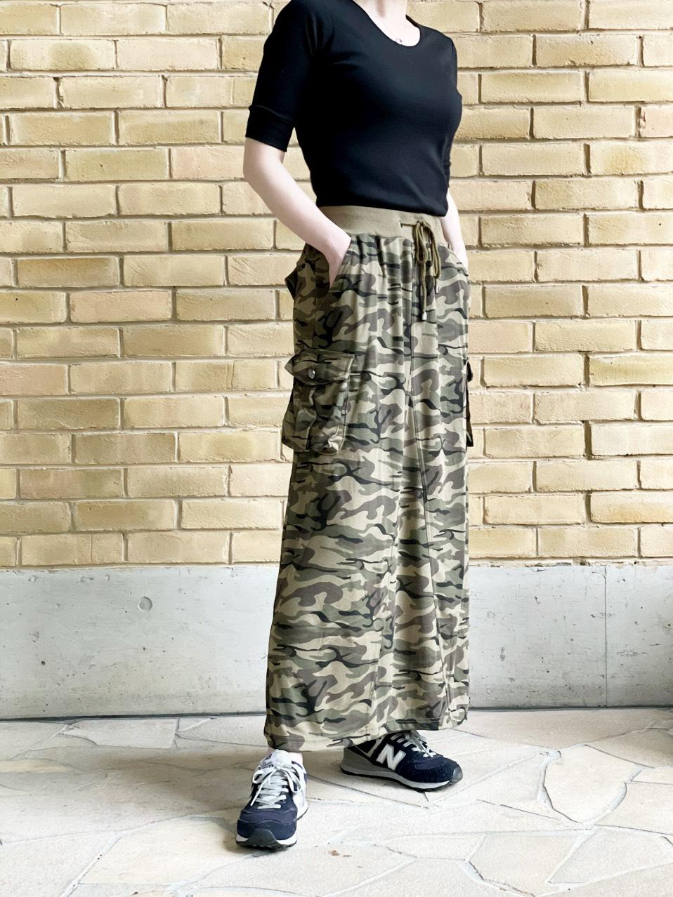 カーゴ フレアー ロング スカート (Lady's/レディース)