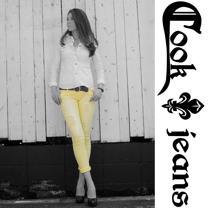 【COOKJEANS/クックジーンズ】ADRIANA デニムパンツ(ladie's/レディース)