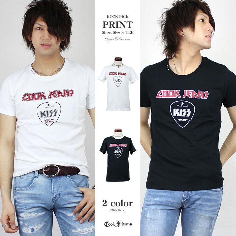 【41%OFF】【COOKJEANS/クックジーンズ】ROCK PICK Tシャツ 半袖 Tシャツ プリント ロック(men's/メンズ)