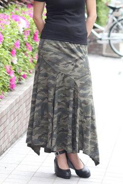 COOKJEANS クックジーンズ マーメイド ロングスカート(Lady's/レディース)