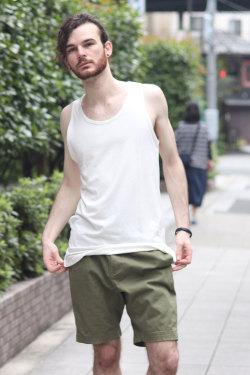 COOKJEANS クックジーンズ サイドジッパータンクトップ(Men's/メンズ)