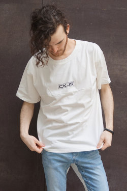 COOKJEANS クックジーンズ オーバーサイズ Tシャツ(Men's/メンズ)
