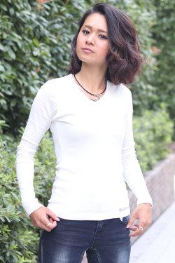【メール便可】 ★ COOKJEANS クックジーンズ フライス ロンT 長袖Tシャツ (Lady's/レディース)