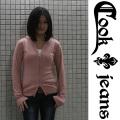 【COOKJEANS/クックジーンズ】カシミア混ジップパーカー(ladie's/レディース)
