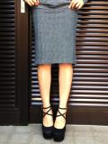 【C.BY.C/シーバイシー】ヘリンボーンスカート(ladie's/レディース)