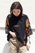 メッシュ コンビ ビッグ Tシャツ (Lady's/レディース)