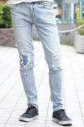 COOKJEANS クックジーンズ デニム パンツ ストレッチ スキニー(Men's/メンズ)