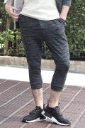 COOKJEANS クックジーンズ トリッキー ヘザー 7分丈スウェットパンツ (Men's/メンズ)