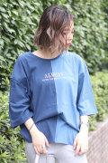 BACKS バックス センター切替Tシャツ(Lady's/レディース)