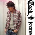 【COOKJEANS/クックジーンズ】2013A/Wチェックネルシャツ(men's/メンズ)