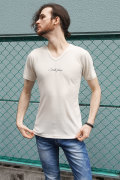 COOKJEANS クックジーンズ スムース カモ柄Tシャツ (Men's/メンズ)
