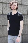 COOKJEANS クックジーンズ ワンポイントロゴ刺繍 Tシャツ(Men's/メンズ)