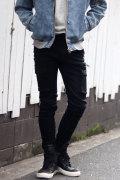 COOKJEANS クックジーンズ コーティング カーゴ パンツ シャーリング (Men's/メンズ)