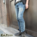 【COOKJEANS/クックジーンズ】LILYCRASHデニムパンツ(men's/メンズ)