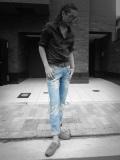 SALE!!【COOKJEANS/クックジーンズ】BLUEDデニムパンツ(men's/メンズ)
