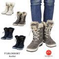 【KIMBERTEX/キンバーテックス】PABLOSHORT スノーブーツ ファー ムートン ブーツ レインブーツ 靴 イタリア製 アウトドア(Lady's/レディース)
