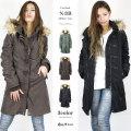 【62%OFF】【COOKJEANS/クックジーンズ】N-3B n3b ファー フード フライト コート ジャケット n-3b アウター  (Lady's/レディース)