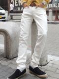 !!【COOKJEANS/クックジーンズ】WHITEデニムパンツ(men's/メンズ)